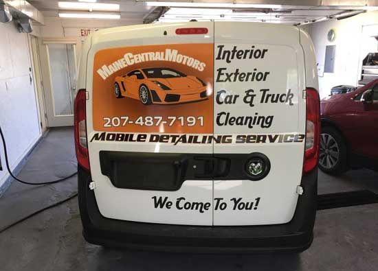 Detailing Maine Central Motors. Pittsfield